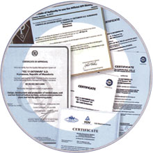 Certifications & Approvals